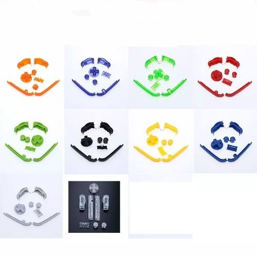 Botones En 10 Colores Para Game Boy Advance Gba + Envío