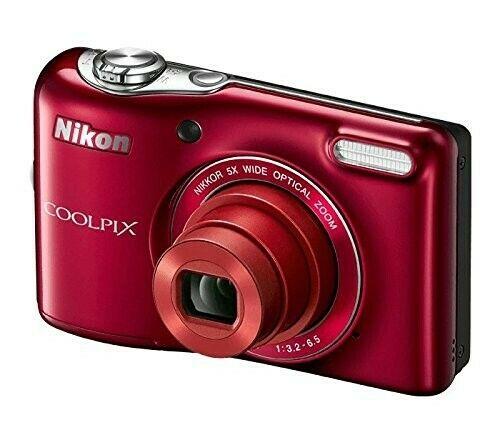 Camara Digital Nikon Coolpix L32 con Lente Zoom Nikkor De