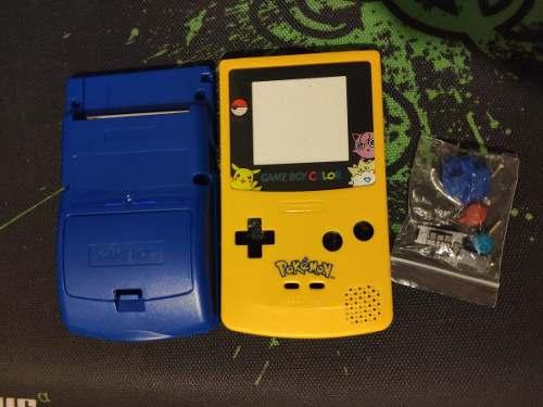 Carcasa De Gameboy Color Pokemon - Gold, Silver