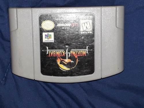 Cassete De N64 Mortal Combat 4