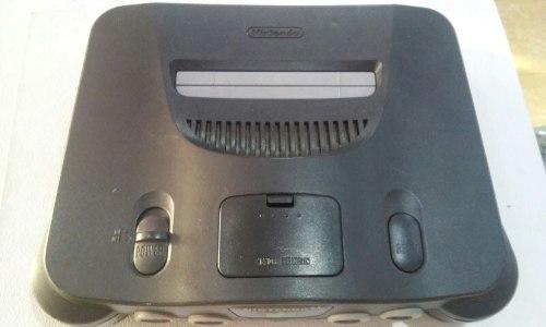 Consola De N64 Con 3 Juegos