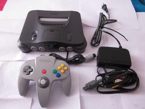 Consola N64 Excelente De Coleccion En Gamekiosko