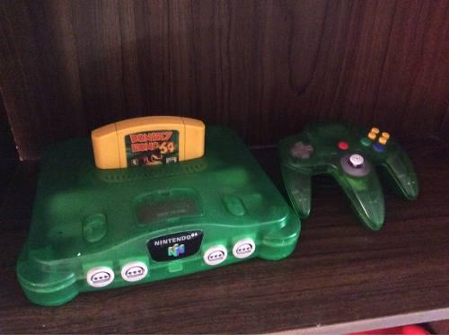 Consola N64 Jungle,expancion Y Juego Dk!!