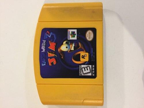 Earth Worm Jim 3, Nintendo 64, Con Garantía Y En Buen