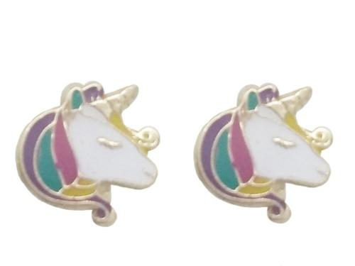 Envío Gratis Broquel De Oro Sólido 10 Kilates De Unicornio