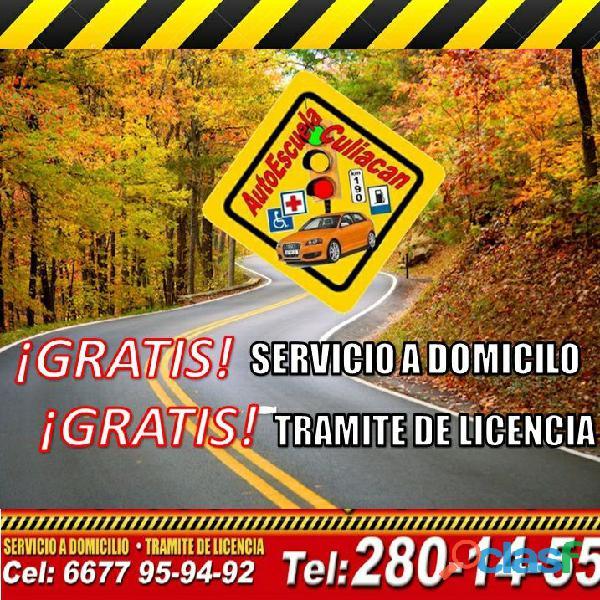 Escuela de manejo en Culiacán tenemos cursos para ti