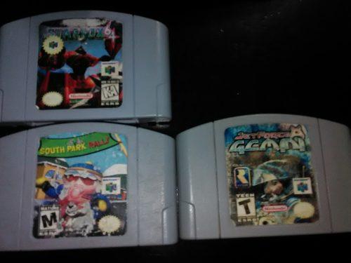 Nintendo 64 Con 3 Juegos 1 Control Sus Cables