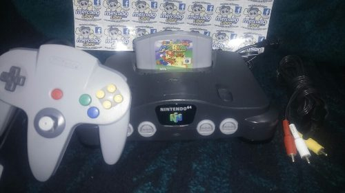 Nintendo 64 Con Super Mario 64 Envio Gratis.