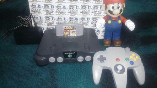 Nintendo 64 Con Super Smash Bros