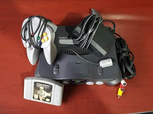Nintendo 64 Usa. Todo Original, Sin Caja. Envio Gratis !