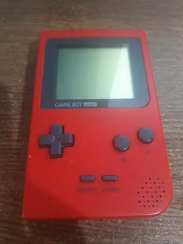 Nintendo Game Boy Pocket Rojo Trosty House