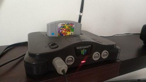 Nintendo N64 Consola Control Funcionando