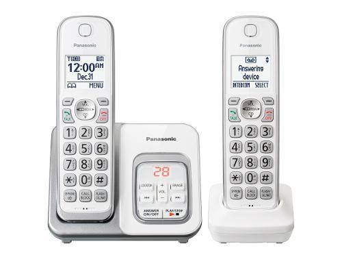 Panasonic Kit 2 Teléfonos Inalámbricos Kx-tgd532w Nuevos