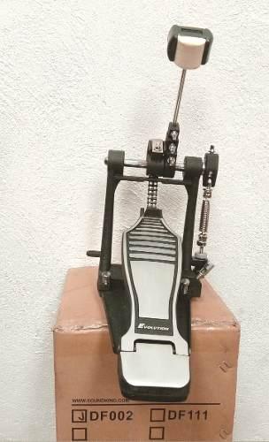 Pedal Para Bombo De Bateria Evolution Reforzado Doble Cadena