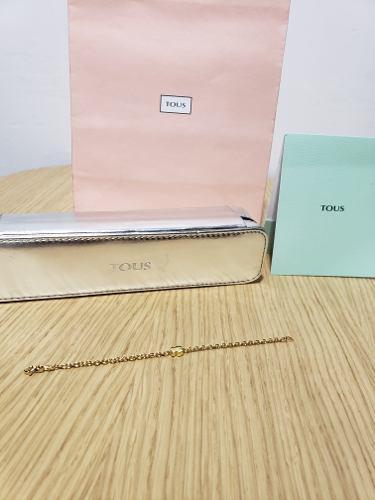Pulsera Tous Oro Tous 18k 100% Tous Tiffany &co Tous T&co Ch
