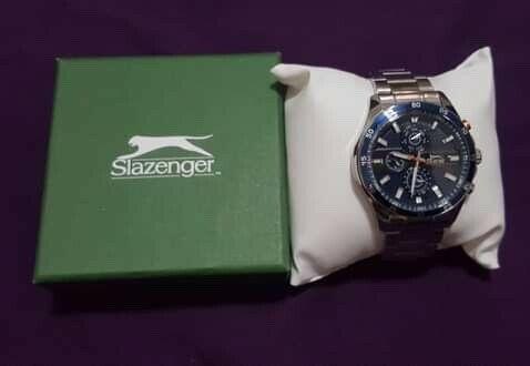 Reloj de Caballero NUEVO marca SLAZENGER