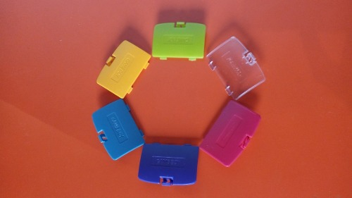 Tapa Para Bateria De Remplazo Gameboy Color Rgs