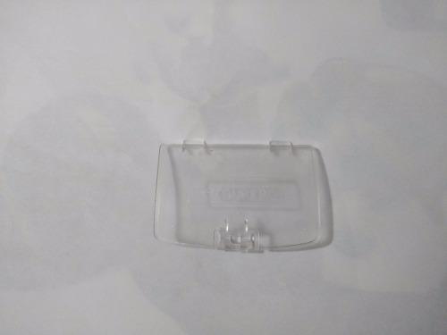 Tapa Para Bateria De Remplazo Gameboy Color, Transparente