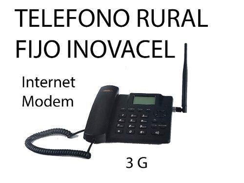 Telefono De Casa Para Zona Rural Con Chip Movistar Wifi 3g