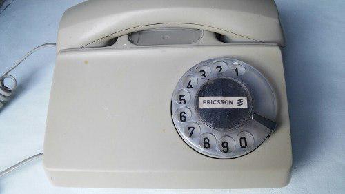 Telefono De Disco Ericsson Funcionando