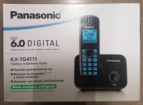 Telefono Inalambrico Nuevo Panasonic Modelo Kx-tg4111meb