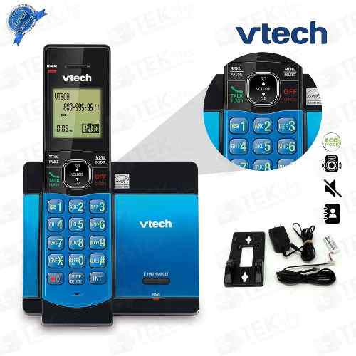 Telefono Inalambrico Vtech Altavoz Dect 6.0 Azul Teklife