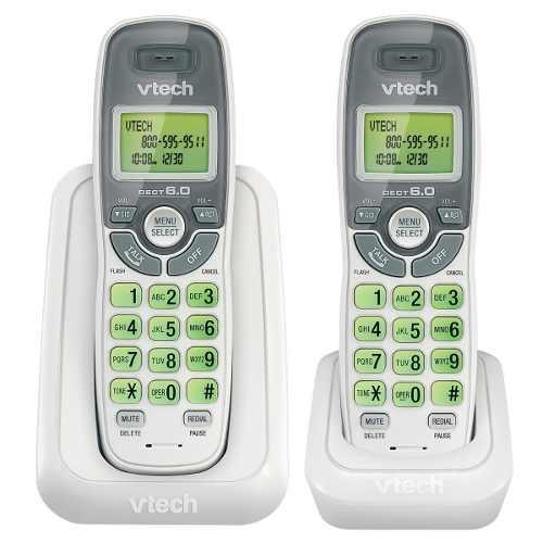 Telefono Inalambrico Vtech Detec 6.0 Digital 1 Ext. Cs6114-2