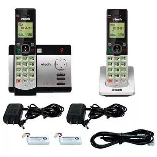 Teléfono Ina Vtech Doble 6.0ghz Contestadora Altavoz 5129-2