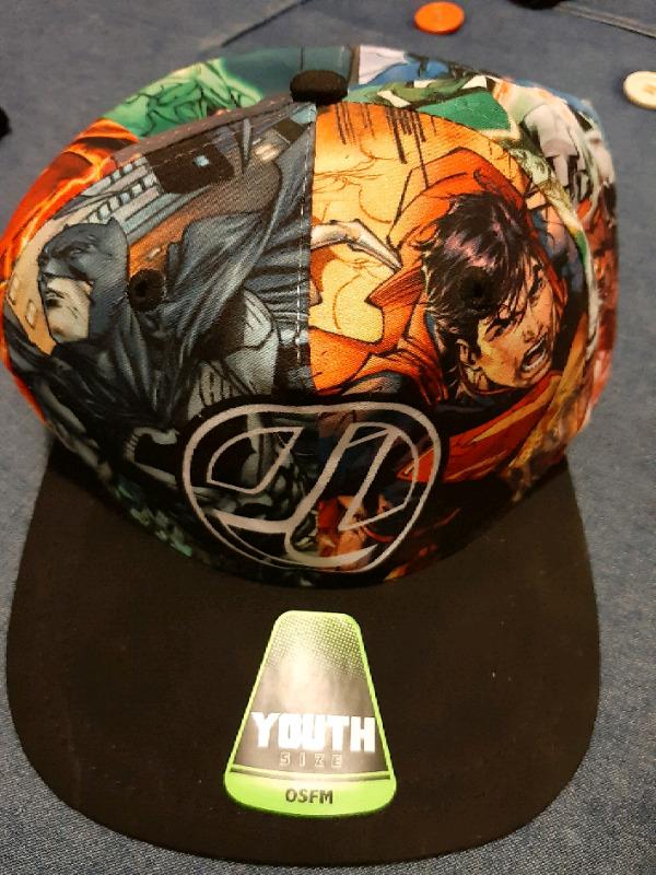 Vendo gorra nueva de la liga de la justicia