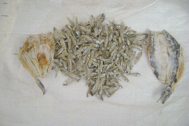 Venta de charal y pescado seco salado