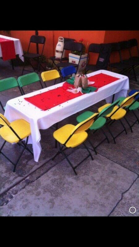 alquiler urgente de carpa, lona mesas tablones en atizapan