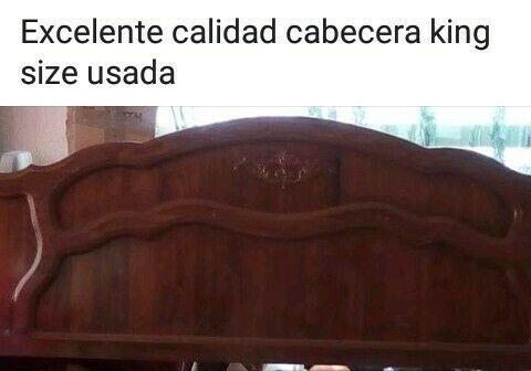 Cabecera King size