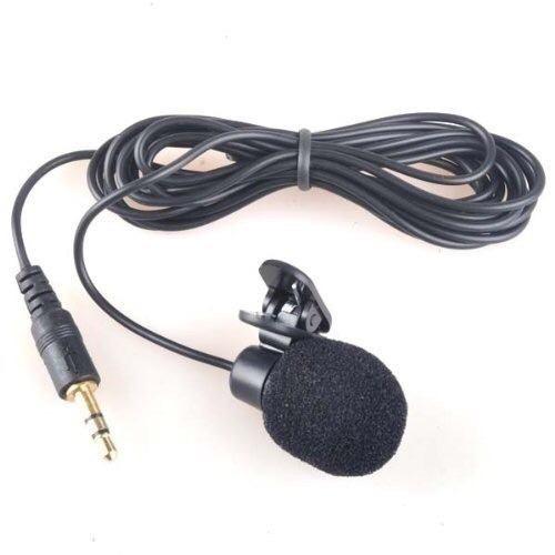 Microfono De Solapa Clip Con Filtro Pop Para Camara 3.5 Mm