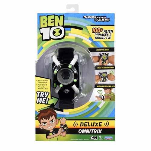Reloj Ben 10 Omnitrix Deluxe 100 Frases Fx Sonidos Español