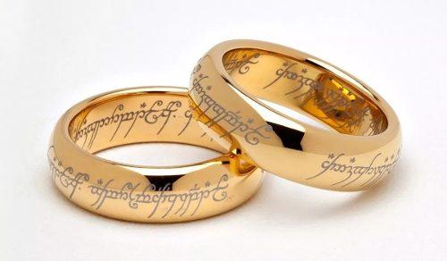 Señor De Los Anillos Hobbit! La Mejor Réplica Tugsteno #18