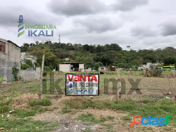 Terreno venta 800 m² Plan de ayala Poza Rica Veracruz,