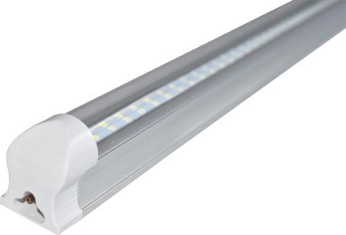 10 Lamparas Doble Led Techo Tubo 24w Aluminio Accesorios /e