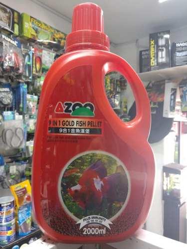 Azoo 9 En 1 Pellets Goldfish 1kg Peces Acuarios