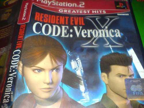 Codigo Veronica X Play 2 Bfn Solo Juego Y Caja Sin Manual
