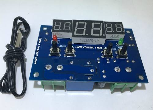 Control Inteligente De Temperatura Digital Sensor Xh-w