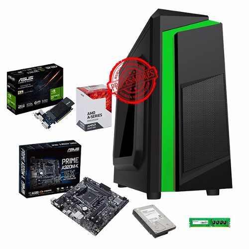 Cpu Gamer Amd A8 9600 / Ram 8gb / 500gb / Nvidia Gt710 2gb