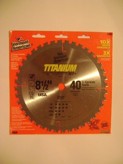 "Disco sierra circular de 8 1/4"" x  dientes."