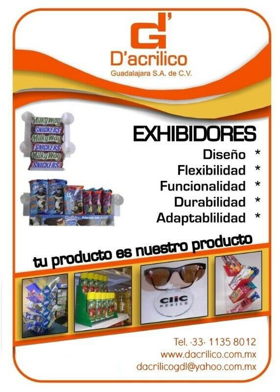 Dulceros en Acrilico Guadalajara