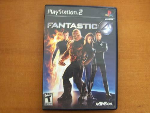 Fantastic 4 Juego Para Ps2
