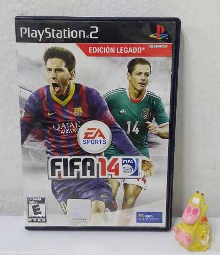 Fifa 14 Play Station 2 Ps2 Edición Legado