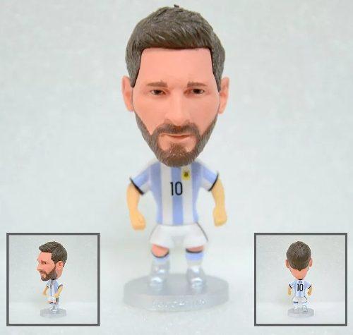 Figura Muñeco Futbol Lionel Messi Argentina 6.5cm