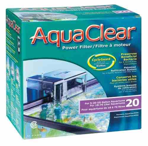 Filtro Cascada Aquaclear 20 Acuarios Peceras De 70lts Max