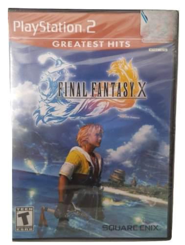 Final Fantasy X Playstation Ps2 Juego Fisico