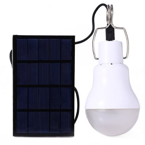 Foco Led Solar Recargable Portatil Camping Blanco 3w  /e