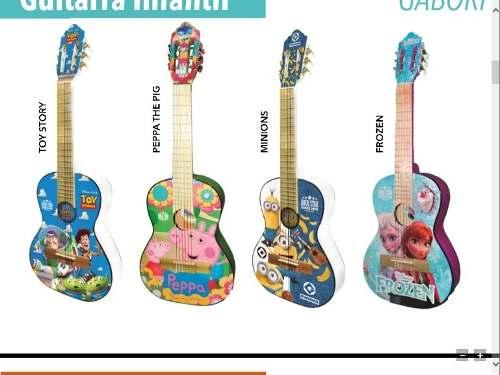 Guitarra Infantil Niño Y Niña Paquete Completo Todo